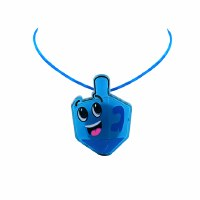 Light Up Dreidel Necklace