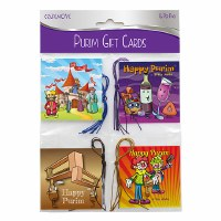 Purim Mishloach Manos Gift Tags 16 Count