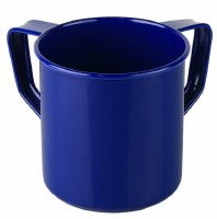 Mini Wash Cup Aluminum Blue