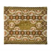 Yair Emanuel Full Embroidered Tallit Bag Gold