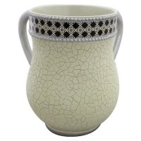 Polyresin Gold Decorative Washing Cup