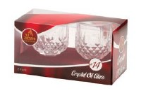 Crystal Oil Glass #14 - 2 Pack