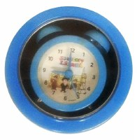 Alarm Clock Mini in Tin Box with Israeli Theme Design