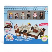 Kinder Velt Shabbos Family 30+ Piece Pack