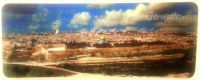 Bookmark 3-D Jerusalem View