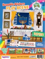 Reusable Stickers Play Scene Chanukah