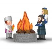 Mitzvah Kinder Lag BeOmer 3 Piece Play Set