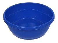 Mini Plastic Wash Bowl for Kids Royal Blue