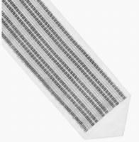"Atara Swarovski Crystal Stripes Design 4.5"""