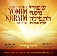 Songs and Nusach of Yomim Noraim Davening CD