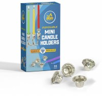 Disposable Mini Candle Holders 44 Count