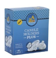 Disposable Candle Holders Plus 40 Count