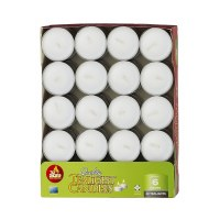 Tea Lights 40 Pack European Made 6 Hour Burn Time