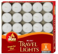 Mini Travel Tealights Paraffin Wax 50 Pack
