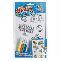 Color N Stick Color Your Own Chanukah Stickers Craft Kit