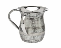Stainless Steel Wash Cup Grayish Silver Color Jug Shape