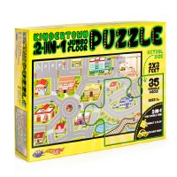 Puzzle 35 Pieces Jumbo Floor 2 In 1 KinderTown