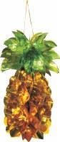 """Large Pineapple 15"""" Foil Hanging Sukkah Decoration #42"""