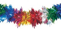 "Garland 8"" Multicolored Foil 30 Section Sukkah Decoration"