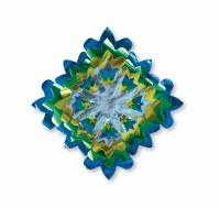 """Foil Star Sukkah Decoration Multi Color 25"""""""