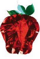 "20"" 10 Section Red Apple Sukkah Decoration #37"