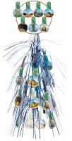 "18"" Lantern Ushpizin Foil Hanging Sukkah Decoration #53"