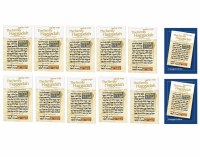 Full Seder Set Including 2 Enlarged Edition Family Haggadahs and 10 Regular Edition Family Haggadahs with 12 Pesach Seder Book Cards