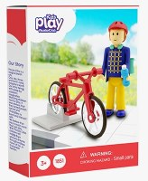 Kids Play My Red Bike