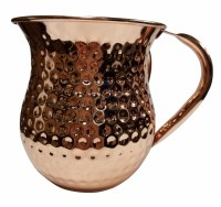 Washing Cup Hammered Stainless Steel Copper