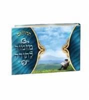 Tehillim Mizmor Lisoda Blue Album Size Meshulav [Hardcover]