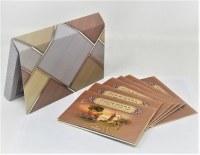 Birchas HaMazon 6 Piece Card Set Magnet Closure Case Ashkenaz [Paperback]