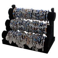 Beaded Hamsa Bracelets Assorted Colors and Charms
