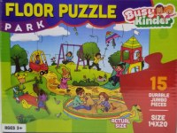 Busy Kinder Floor Puzzle Park Theme 15 Pieces