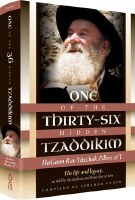 One of The Thirty Six Hidden Tzaddikim [Hardcover]
