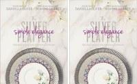 The Silver Platter - Simple Elegance Cookbook 2 Pack [Hardcover]