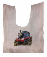 Cotton Tzitzis with Silk Screened Train Design Size 2