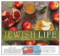 Jewish Year Calendar 5782/2021-2022