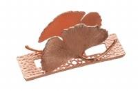 Metal Napkin Holder Flower Design Rose Gold