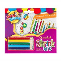 Chanukah Shrink Art Kit