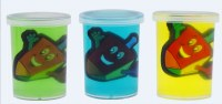 Dreidel Slime Bucket Assorted Colors Single Piece