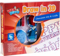 Chanukah Draw in 3D Craft Kit