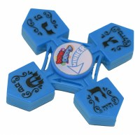 Dreidel Spinner Solid Assorted Colors