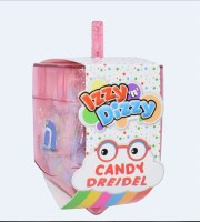 Dreidel Filled with Candy Assorted Colors - Single Piece