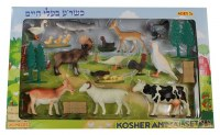 Kosher Animal Playset 20 Piece