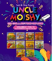 Uncle Moishy CD Collection Volumes 1 Thru 19 Plus Shabbos and Yom Tov USB