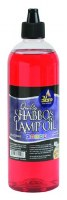 Shabbos Lamp Oil Smokeless Liquid Paraffin Red 32 oz