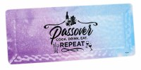 Passover Splash Rectangle Melamine Tray