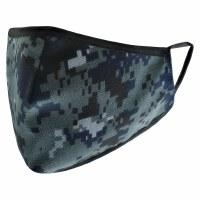 Cloth Face Mask Navy Digital Design Adult Size