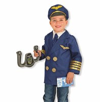 Pilot Role Play Purim Costume Set for Ages 3-6