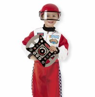 Race Car Driver Role Play Purim Costume Set for Ages 3-6